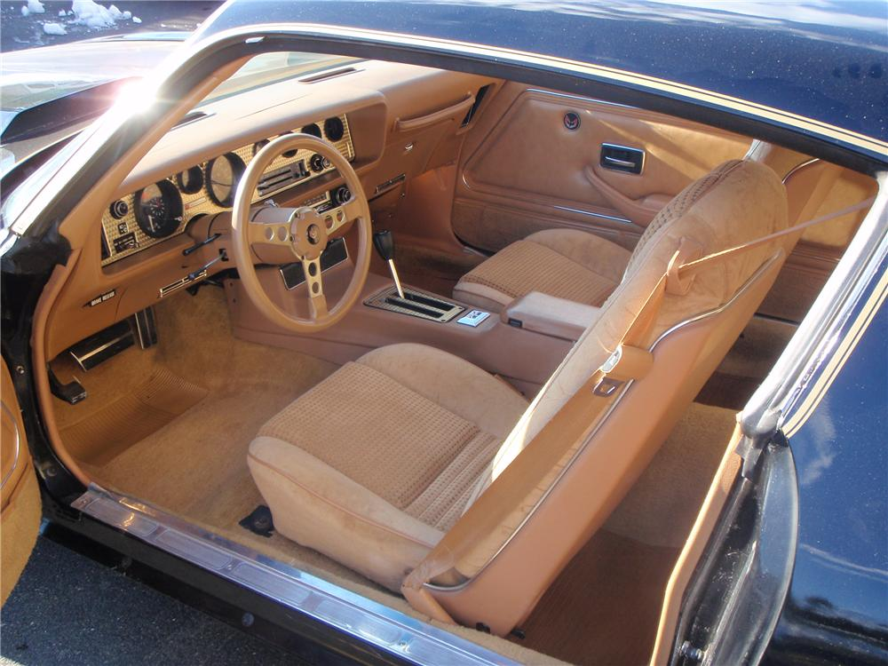 1980 PONTIAC TRANS AM 2 DOOR HARDTOP - Interior - 101655