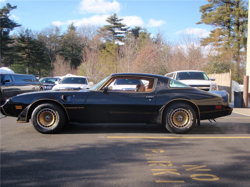 1980 PONTIAC TRANS AM 2 DOOR HARDTOP - Side Profile - 101655
