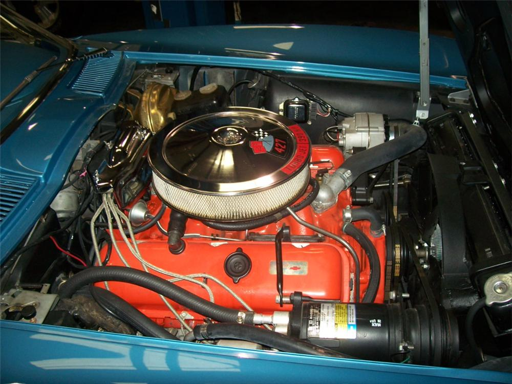 1966 CHEVROLET CORVETTE CONVERTIBLE - Engine - 101667