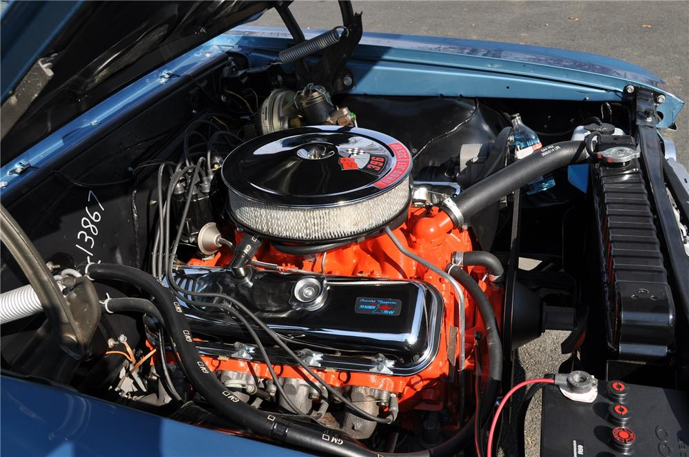 1966 CHEVROLET CHEVELLE SS 396 CONVERTIBLE - Engine - 101670