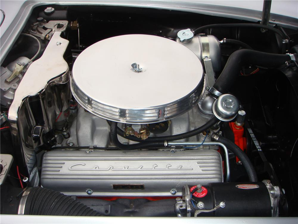 1962 CHEVROLET CORVETTE CONVERTIBLE - Engine - 101673
