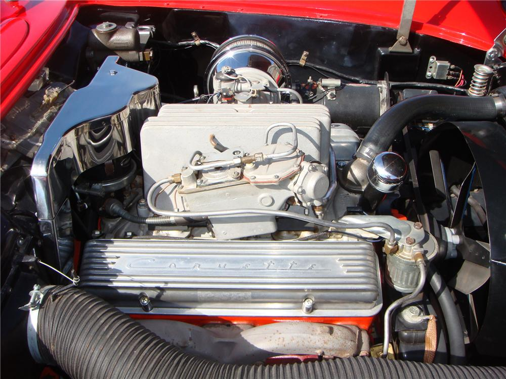 1957 CHEVROLET CORVETTE CONVERTIBLE - Engine - 101674
