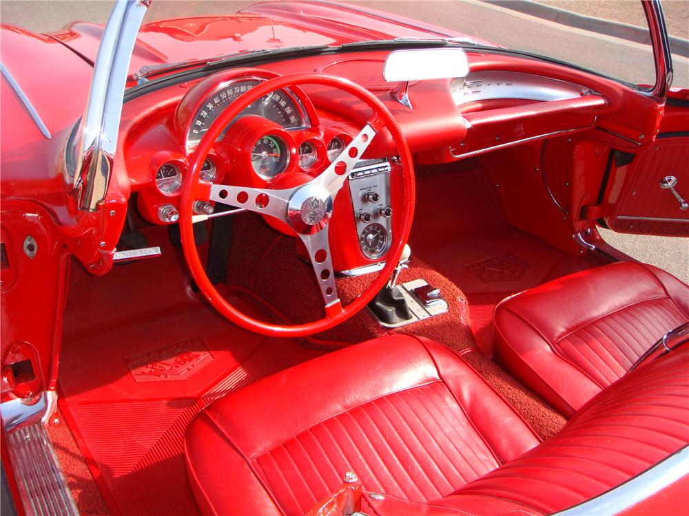 1962 CHEVROLET CORVETTE CONVERTIBLE - 101675