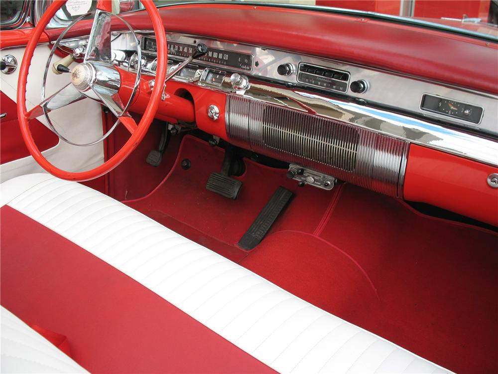 1956 BUICK SPECIAL CONVERTIBLE - Interior - 101676
