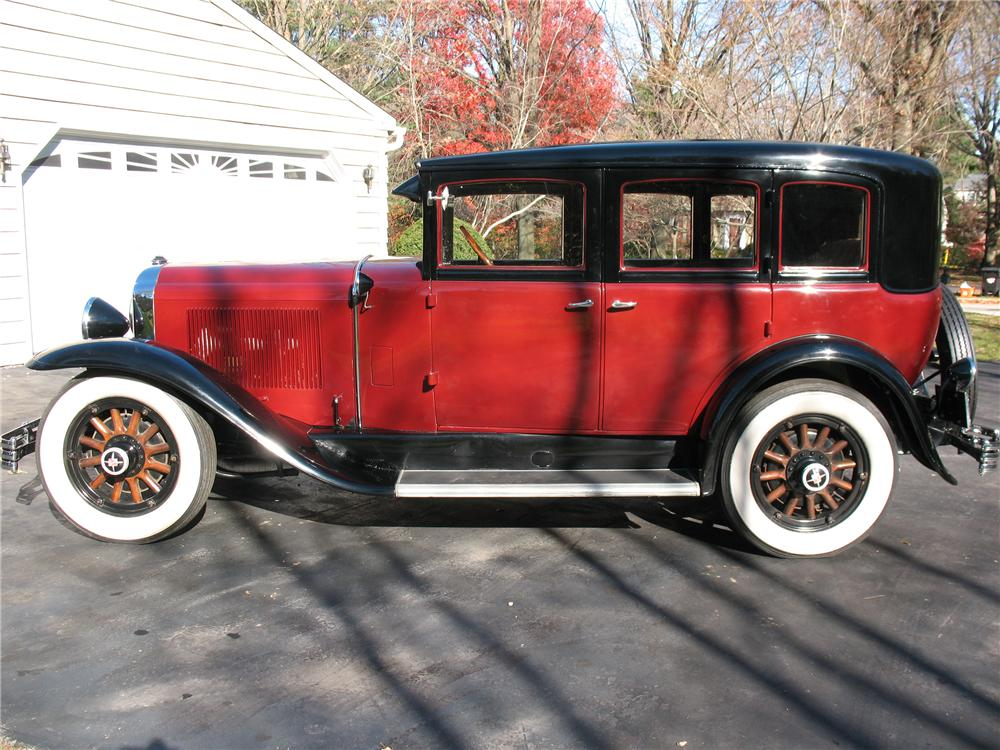 1929 BUICK MODEL 47 4 DOOR SEDAN - Side Profile - 101678