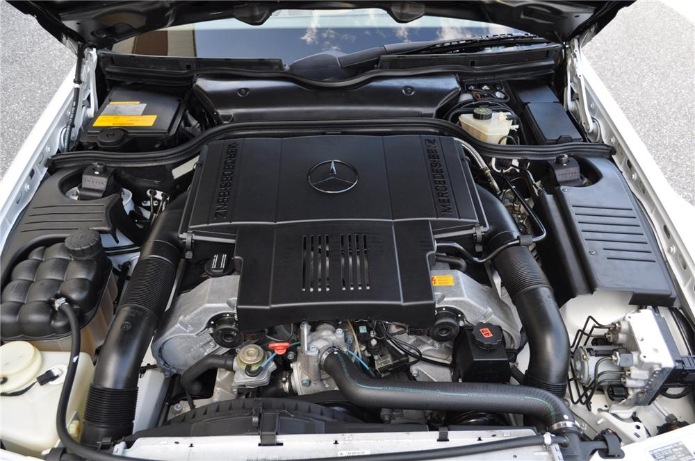 1998 MERCEDES-BENZ 500SL CONVERTIBLE - Engine - 101681