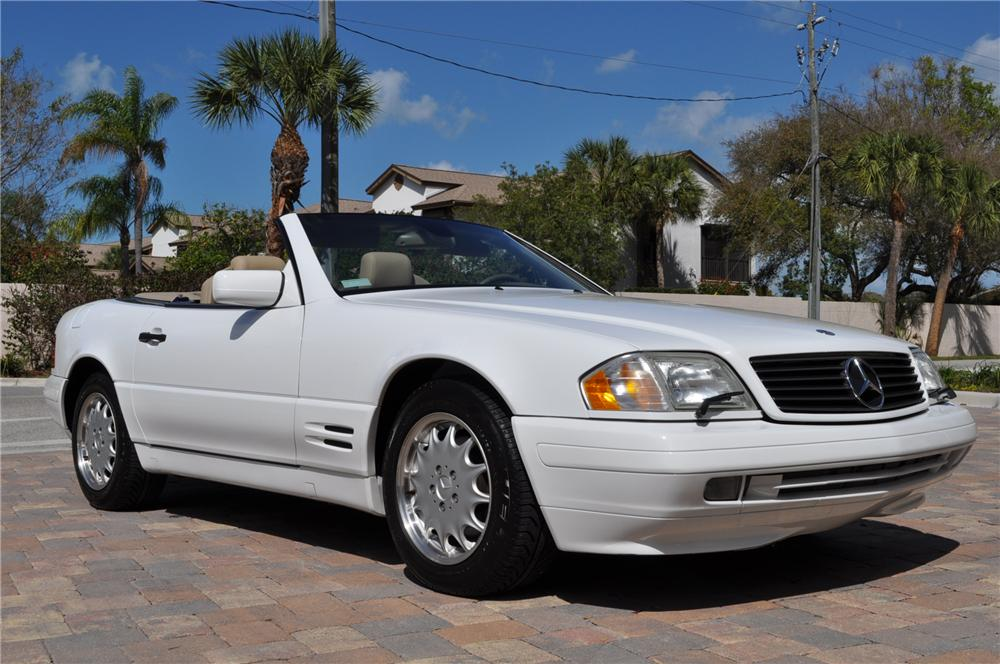1998 MERCEDES-BENZ 500SL CONVERTIBLE - Side Profile - 101681
