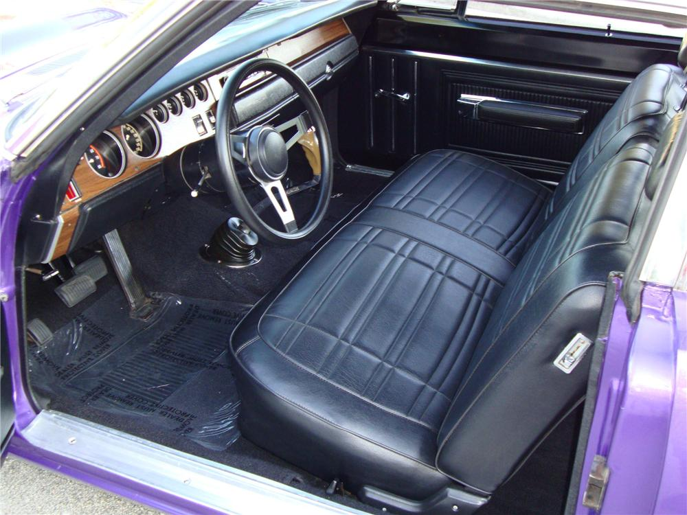 1970 DODGE SUPER BEE 2 DOOR COUPE - Interior - 101682