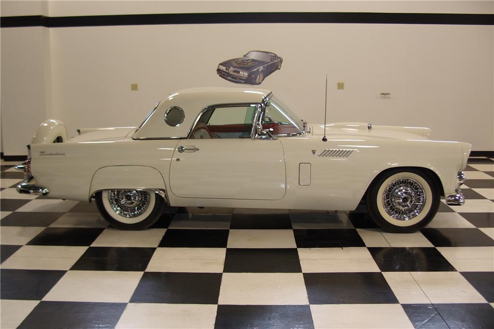 1956 FORD THUNDERBIRD CONVERTIBLE - Side Profile - 101686