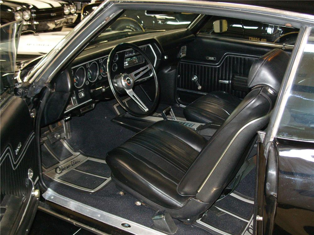 1970 CHEVROLET CHEVELLE SS 2 DOOR COUPE - Interior - 101687