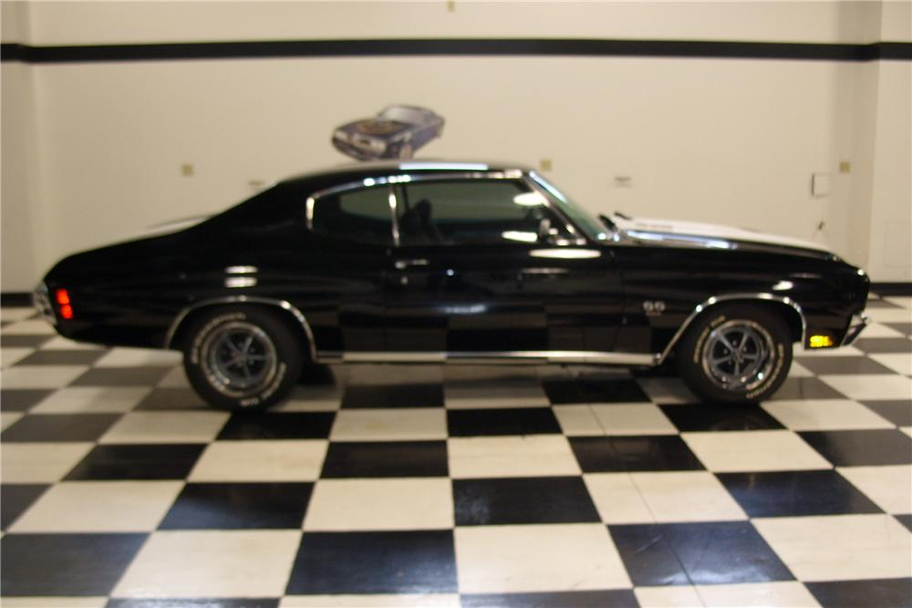 1970 CHEVROLET CHEVELLE SS 2 DOOR COUPE - Side Profile - 101687