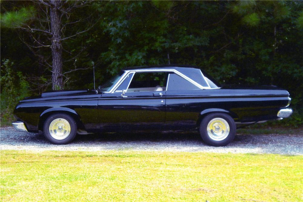 1964 PLYMOUTH SPORT FURY CUSTOM 2 DOOR HARDTOP - Side Profile - 101693