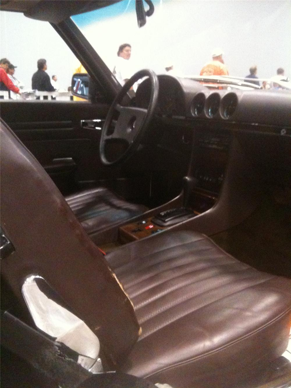 1983 MERCEDES-BENZ 380SL CONVERTIBLE - Interior - 101694