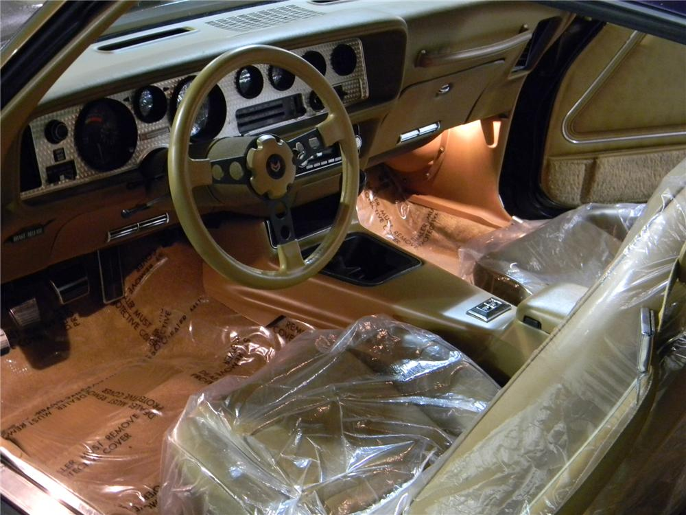 1979 PONTIAC FIREBIRD TRANS AM 2 DOOR COUPE - Interior - 101698