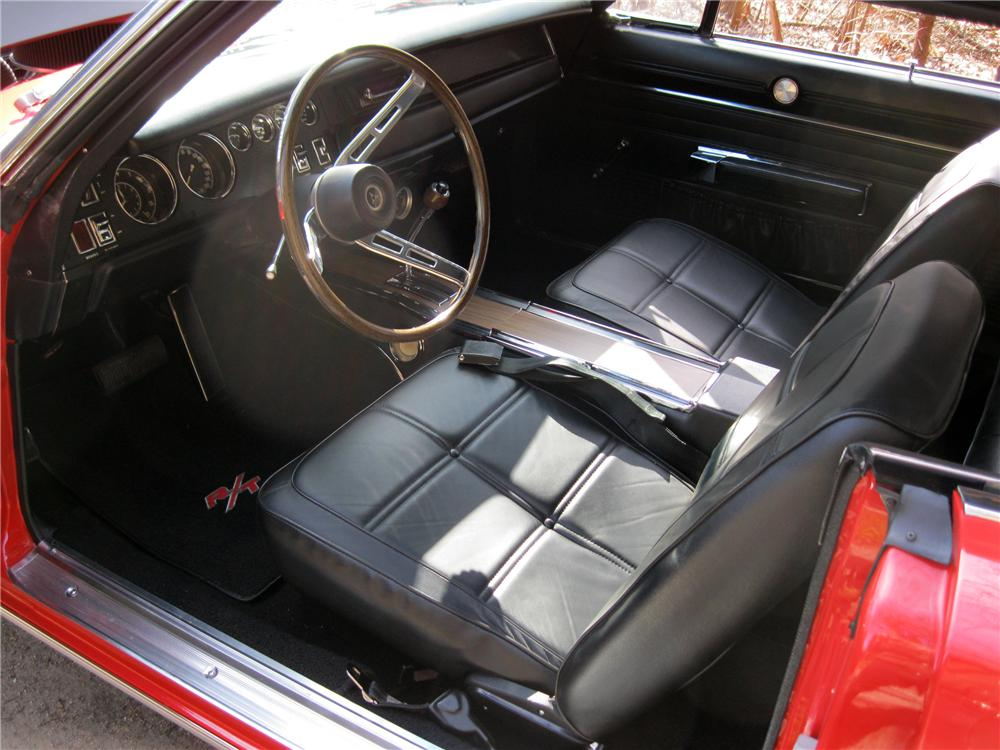 1969 Dodge Charger Red Interior 1969 Dodge Charger Custom 2