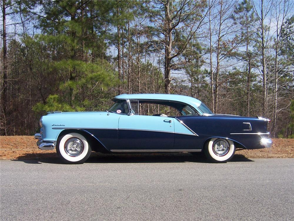 1954 OLDSMOBILE HOLIDAY 98 2 DOOR COUPE - Side Profile - 101707