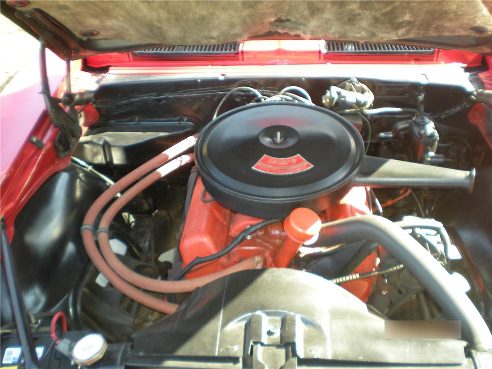 1967 CHEVROLET CAMARO 2 DOOR COUPE - Engine - 101708
