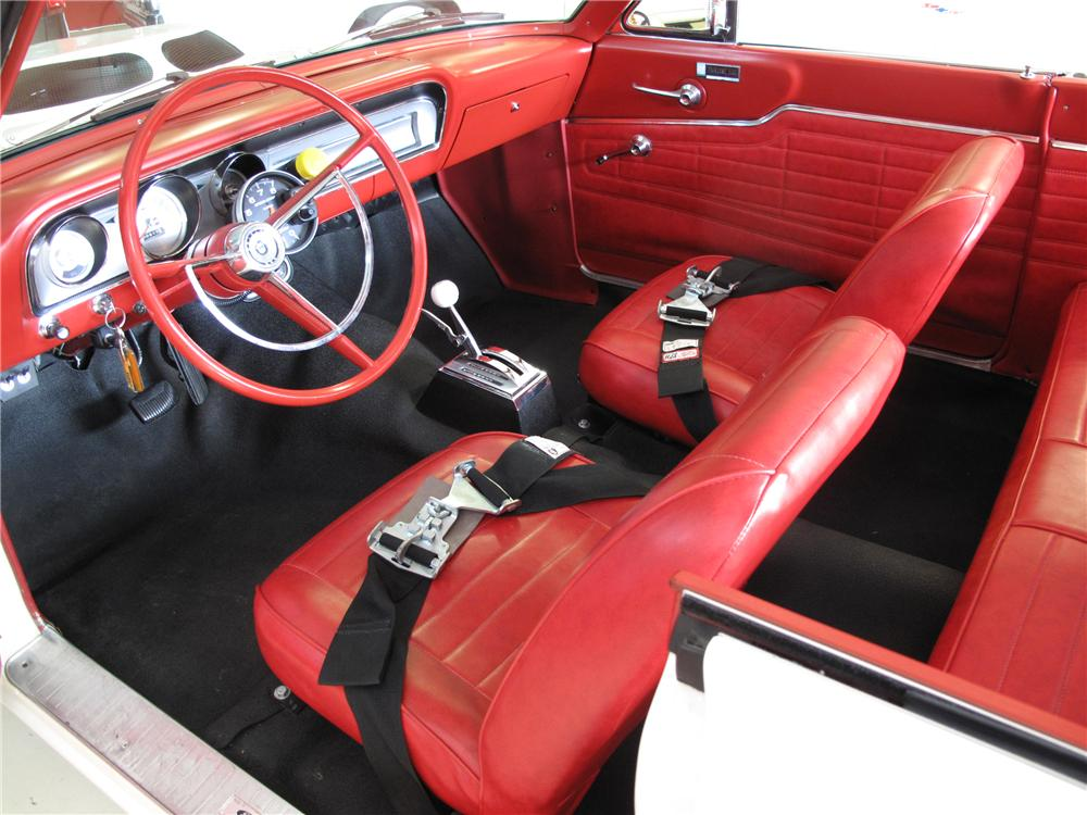1964 FORD FAIRLANE THUNDERBOLT RE-CREATION - Interior - 101715