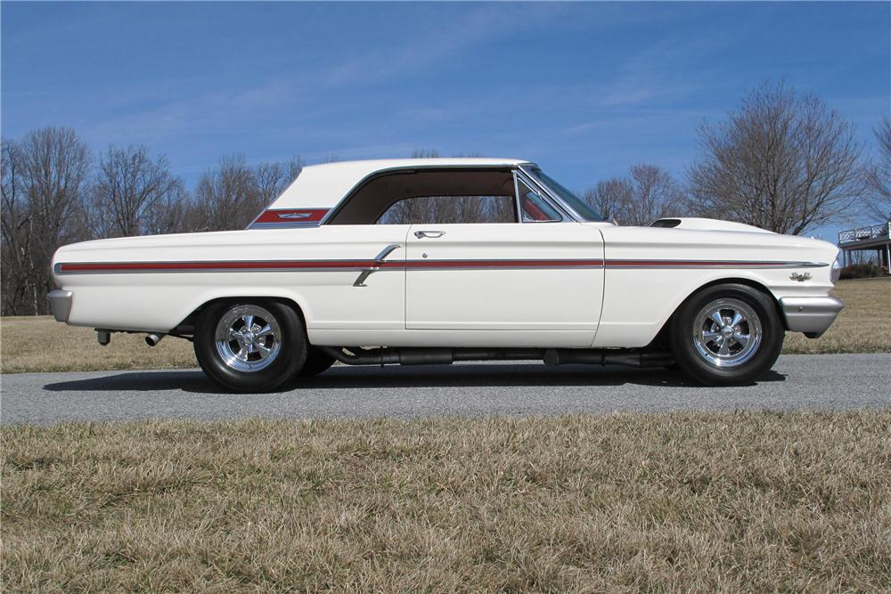 1964 FORD FAIRLANE THUNDERBOLT RE-CREATION - Side Profile - 101715