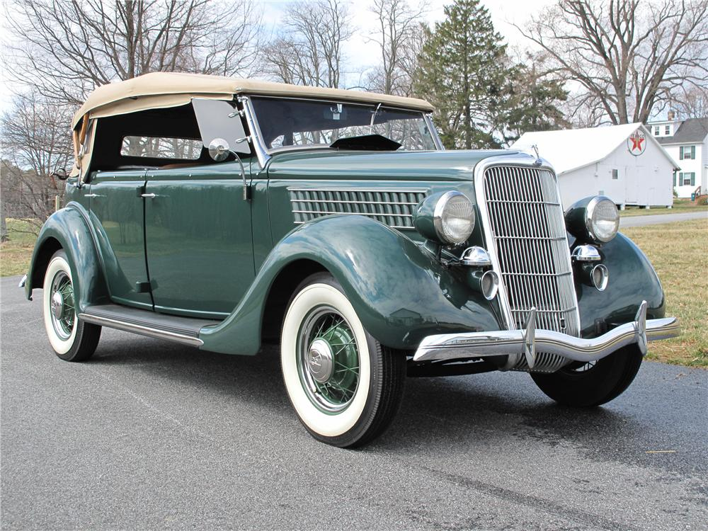 1935 ford model 48 phaeton 4 door convertible 101717