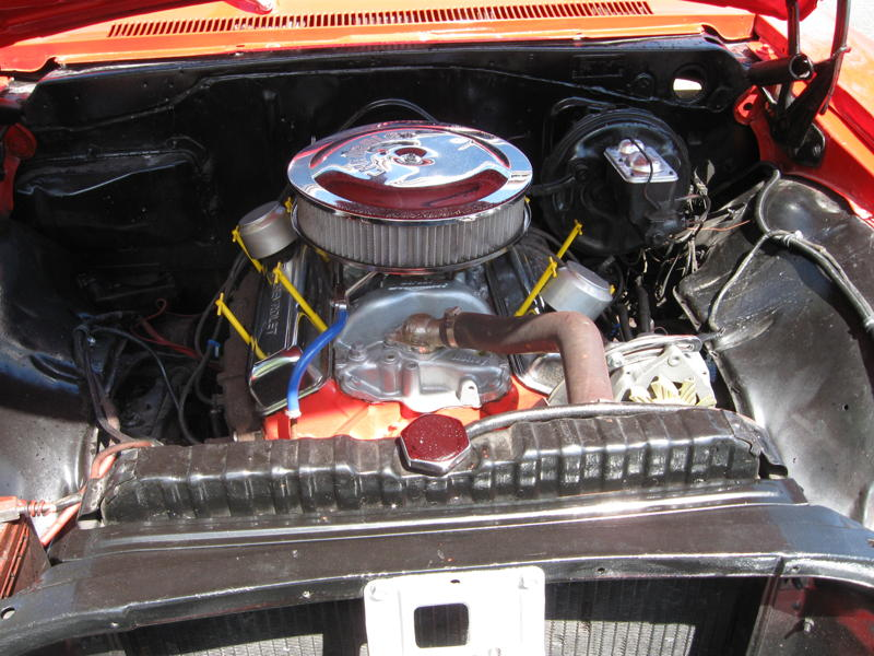 1967 CHEVROLET IMPALA SS CONVERTIBLE - Engine - 101723