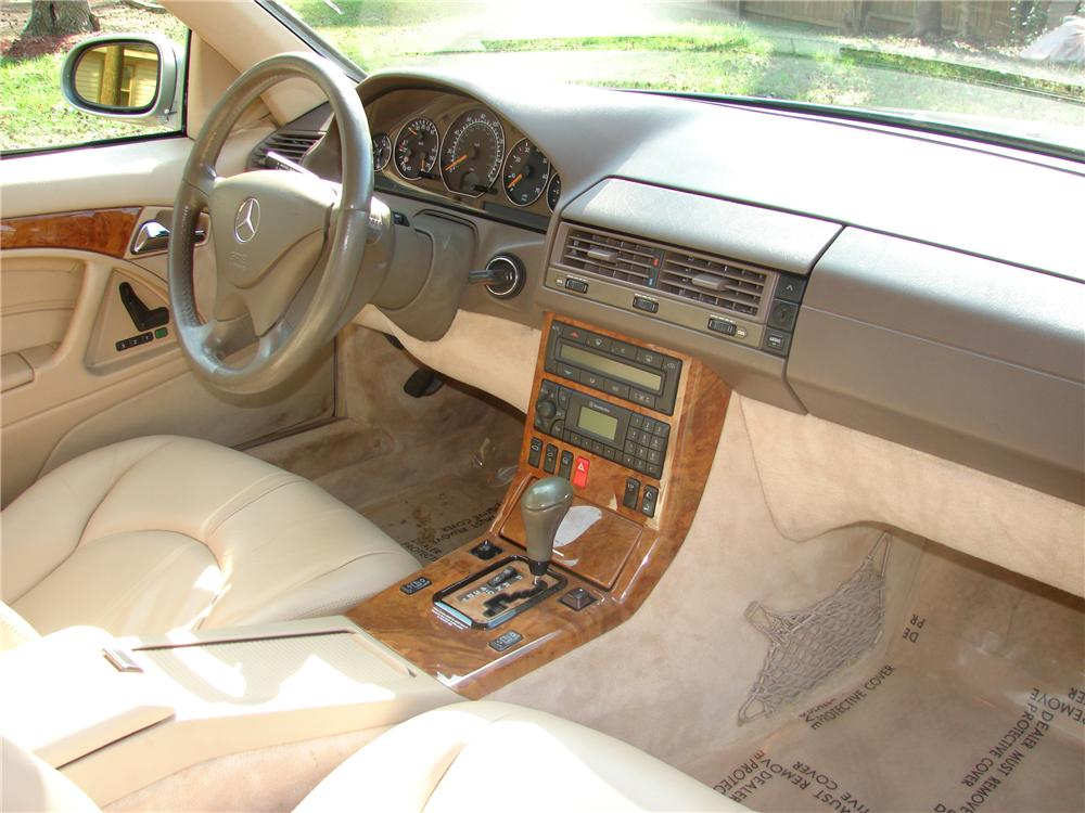 1999 MERCEDES-BENZ 500SL CONVERTIBLE - Interior - 101754