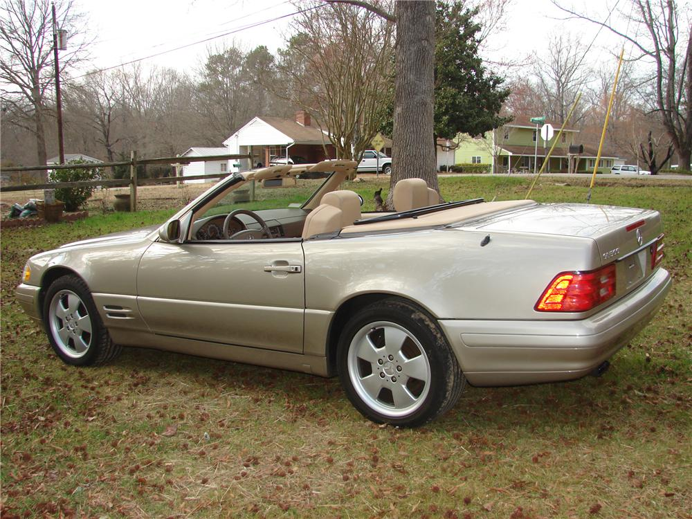 1999 Mercedes Benz 500sl Convertible 101754