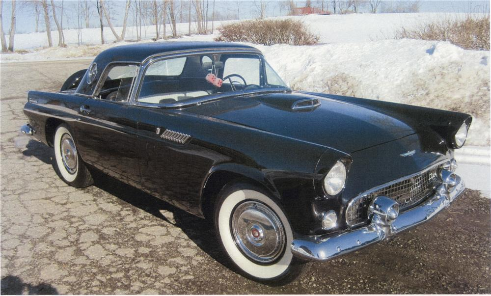 1956 FORD THUNDERBIRD CONVERTIBLE - Front 3/4 - 101760