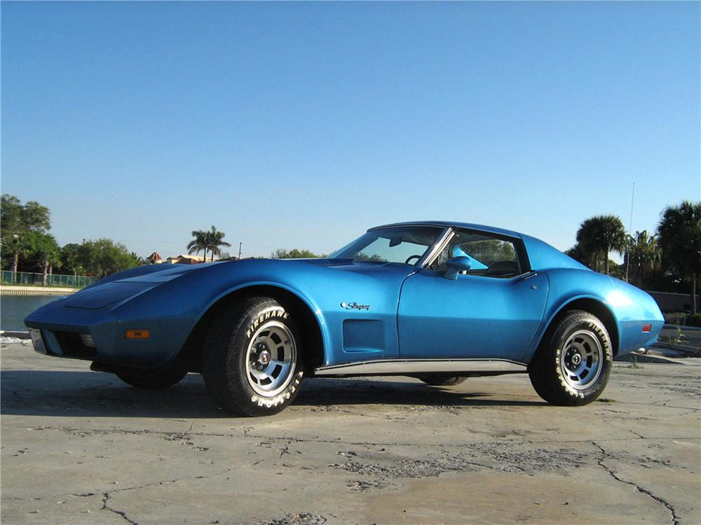 1974 CHEVROLET CORVETTE 2 DOOR COUPE - Front 3/4 - 101770