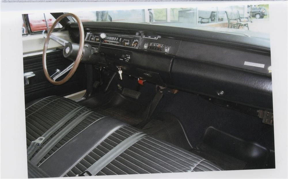1969 PLYMOUTH ROAD RUNNER 2 DOOR SEDAN - Interior - 101780
