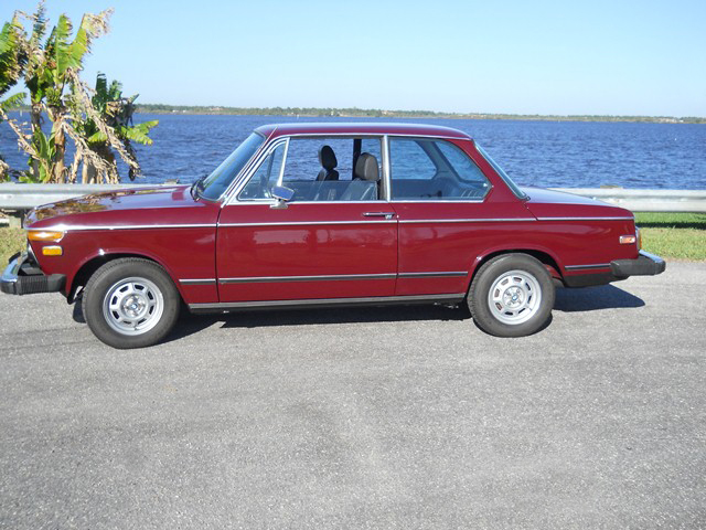 1974 BMW 2002TII 2 DOOR HARDTOP - Side Profile - 101796