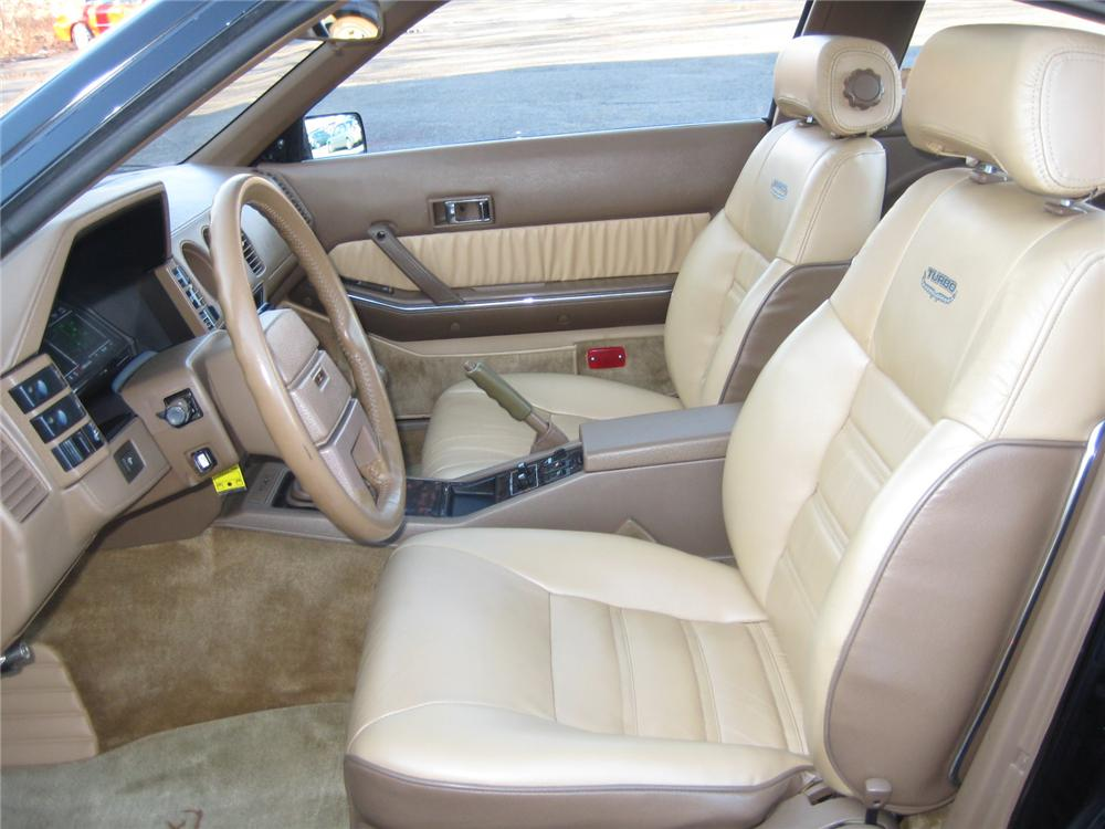 1984 DATSUN 300ZX TURBO 2 DOOR COUPE - Interior - 101960