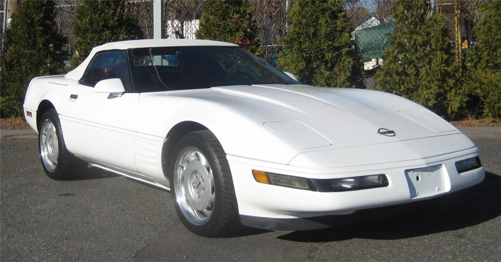 1991 CHEVROLET CORVETTE CONVERTIBLE - Front 3/4 - 101961