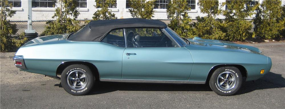 1970 PONTIAC GTO RE-CREATION CONVERTIBLE - Side Profile - 101963