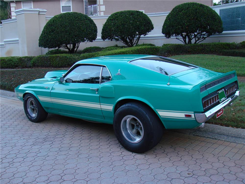 1970 SHELBY GT500 2 DOOR FASTBACK - Rear 3/4 - 101974