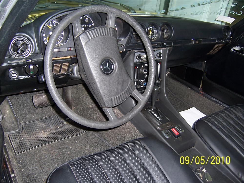 1973 MERCEDES-BENZ 450SL ROADSTER - Interior - 101981