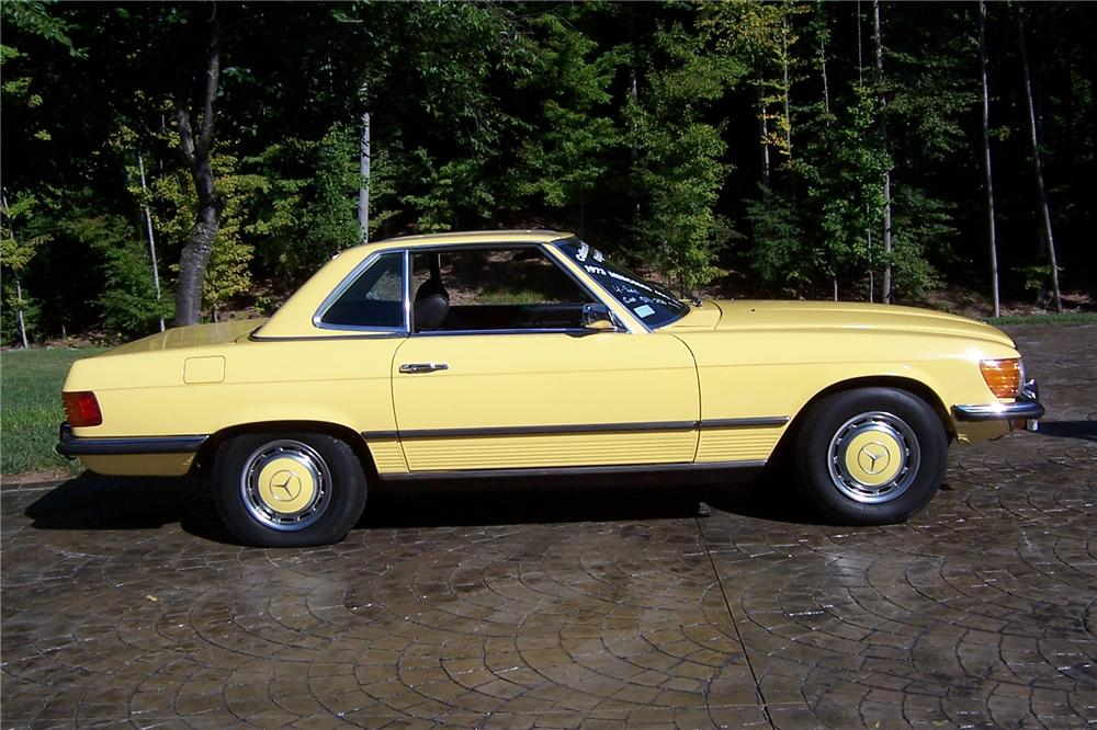 1973 MERCEDES-BENZ 450SL ROADSTER - Side Profile - 101981