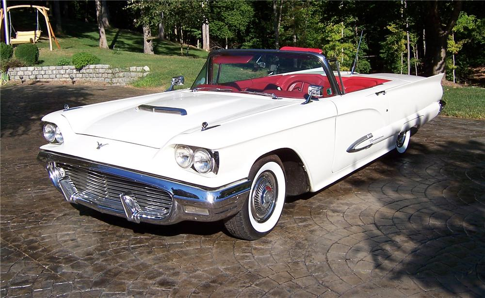1959 FORD THUNDERBIRD CONVERTIBLE - 101987