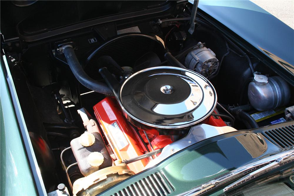 1965 CHEVROLET CORVETTE CONVERTIBLE - Engine - 101990