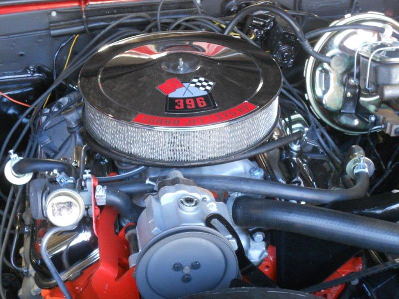 1968 CHEVROLET CAMARO RS/SS COUPE - Engine - 101992