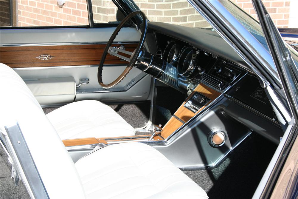 1965 BUICK RIVIERA GS 2 DOOR HARDTOP - Interior - 101993