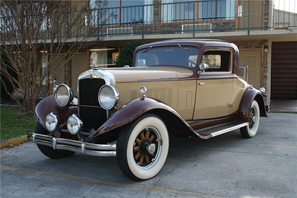 1931 REO FLYING CLOUD 2 DOOR COUPE - Front 3/4 - 101997