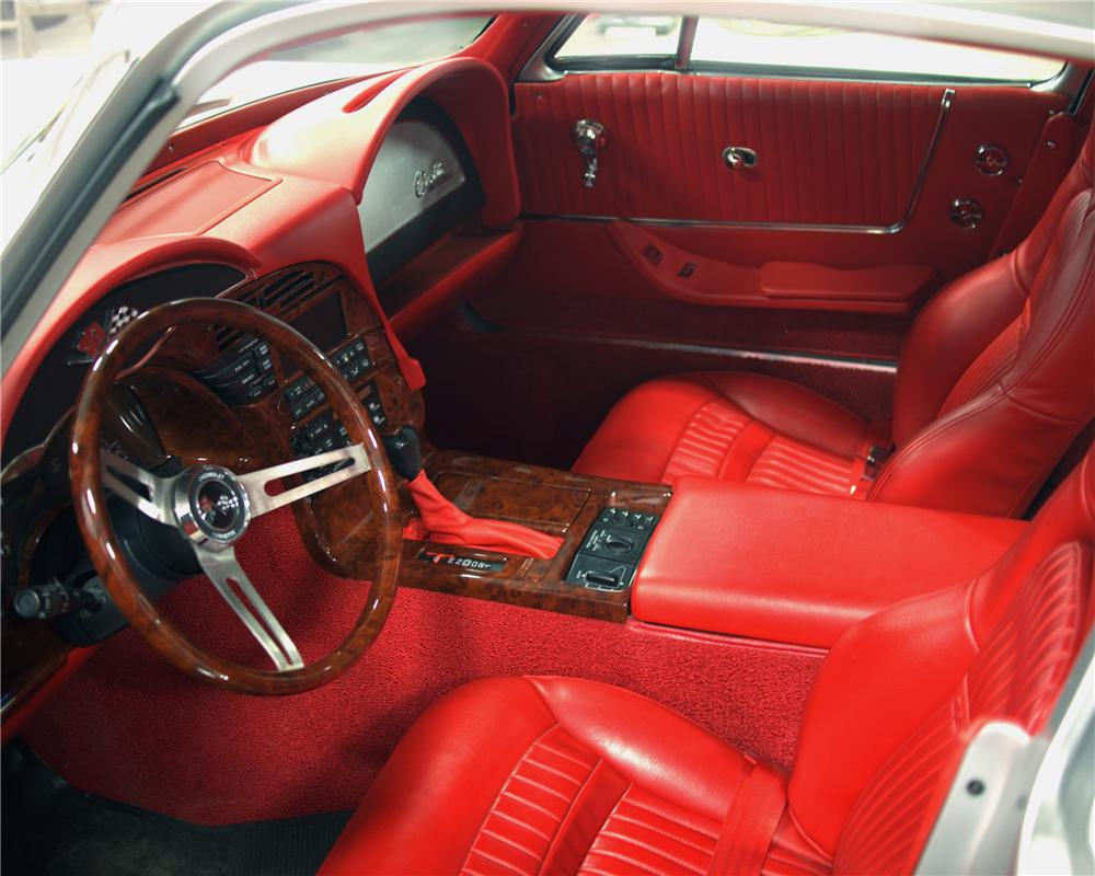 1963 CHEVROLET CORVETTE CUSTOM COUPE - Interior - 101999