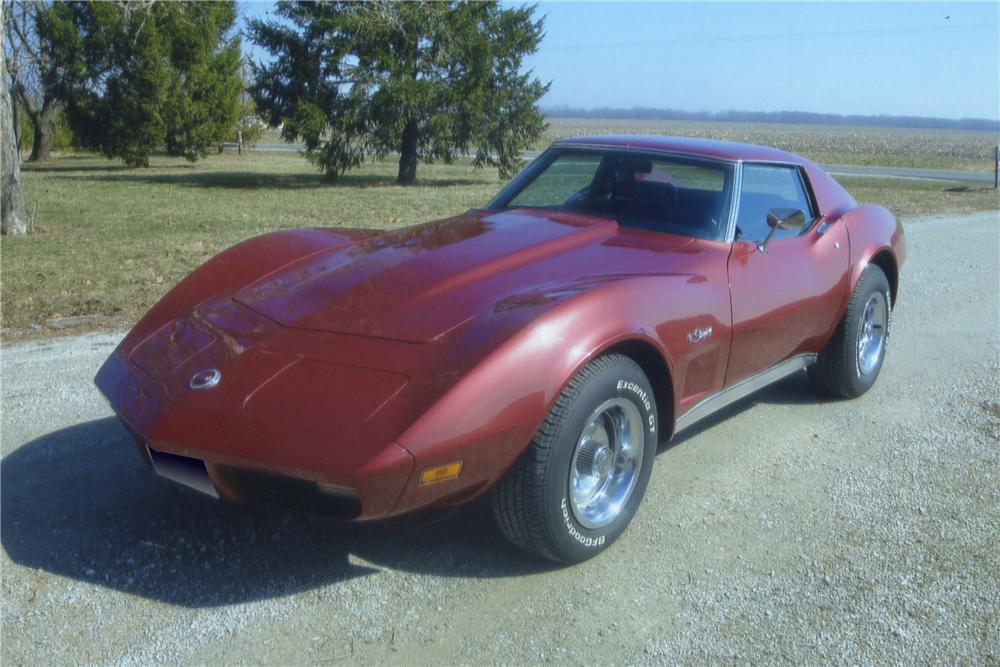 1974 CHEVROLET CORVETTE 2 DOOR COUPE - Front 3/4 - 102003