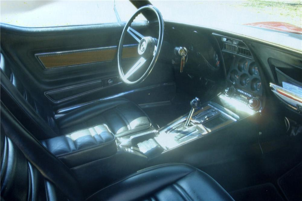 1974 CHEVROLET CORVETTE 2 DOOR COUPE - Interior - 102003