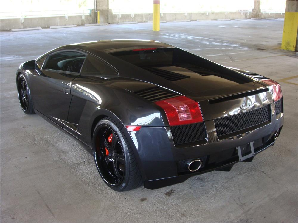 2004 LAMBORGHINI GALLARDO 2 DOOR COUPE - Rear 3/4 - 102029