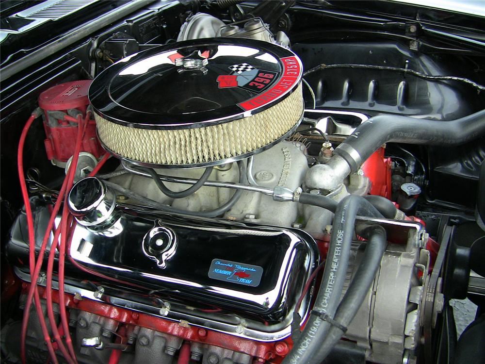 1969 CHEVROLET CAMARO SS CONVERTIBLE - Engine - 102036