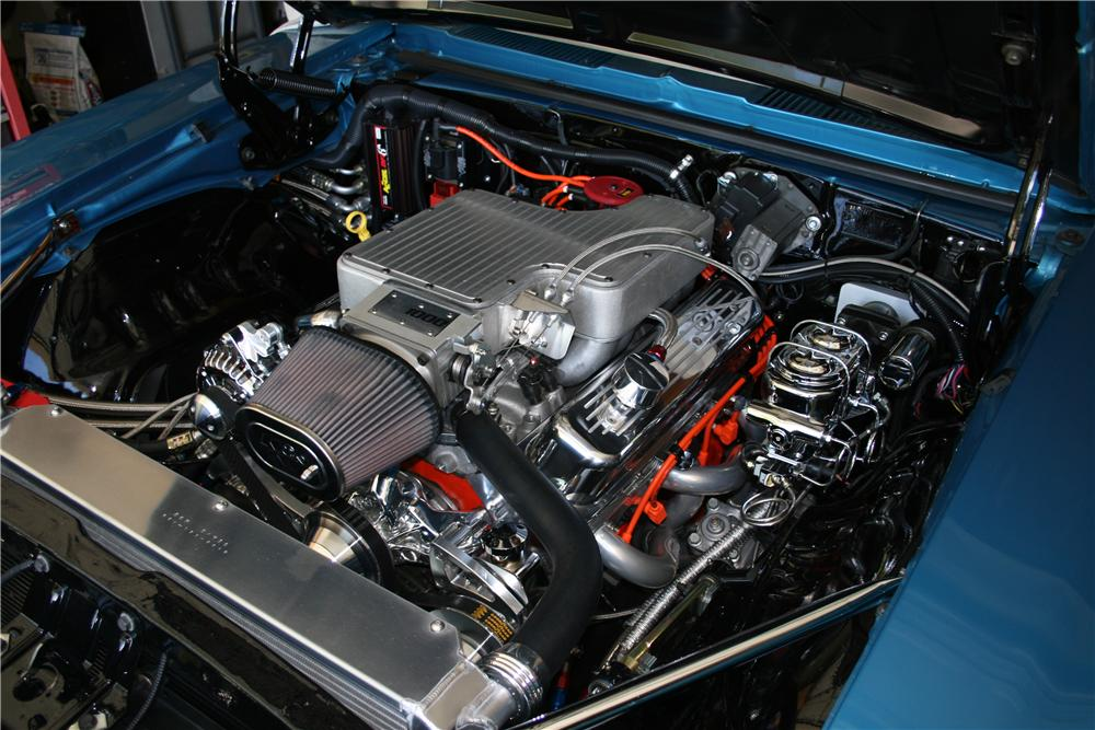 1969 CHEVROLET CAMARO CUSTOM CONVERTIBLE - Engine - 102037