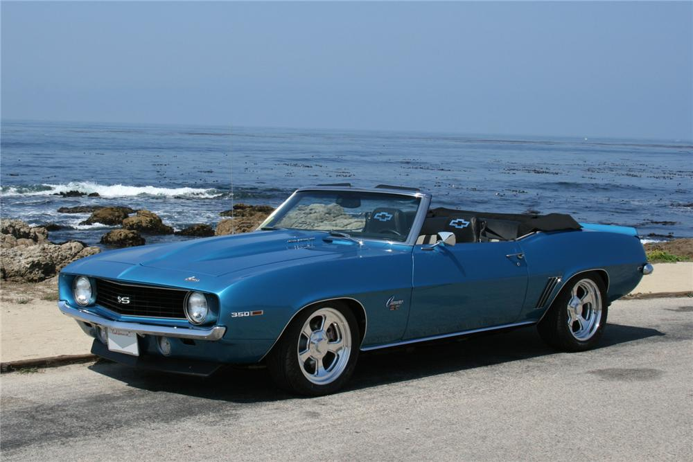 1969 chevrolet camaro custom convertible front 3 4 102037. Cars Review. Best American Auto & Cars Review