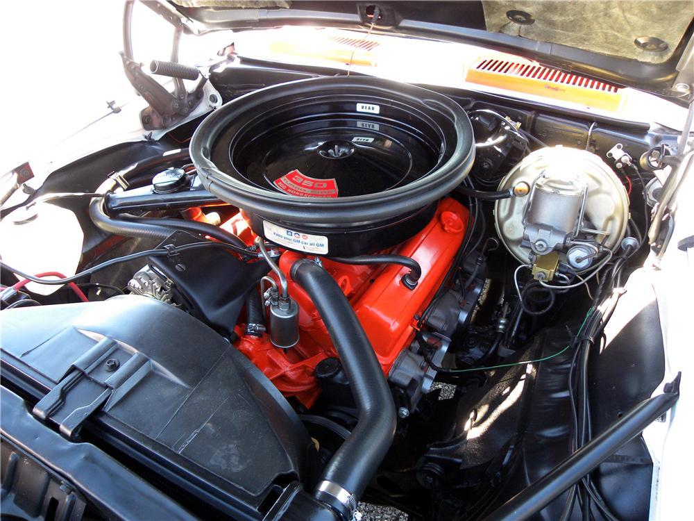 1969 CHEVROLET CAMARO INDY PACE CAR CONVERTIBLE - Engine - 102043